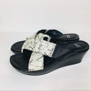 Dansko Platform Leather Sandals 40